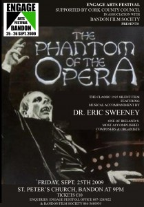 phantom of the opera poster template copy